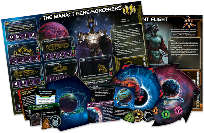 Prophecy of Kings Twilight Imperium Expansion