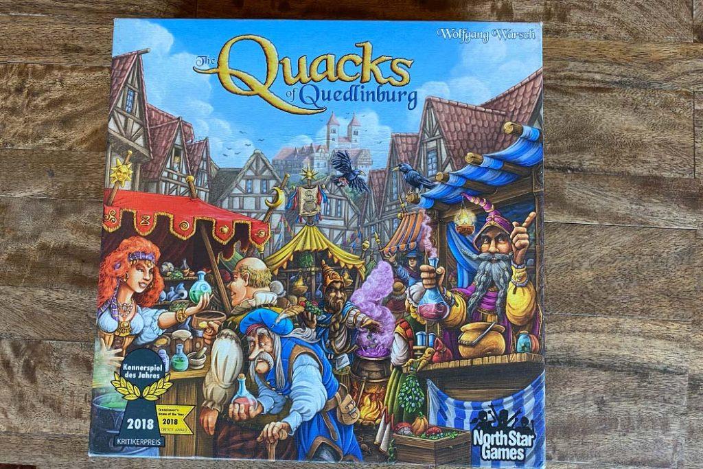 Quacks of Quedlinburg Board Game Box Art