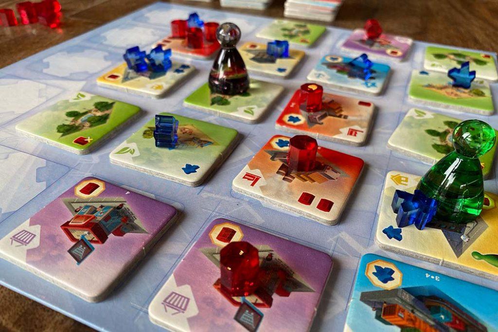 Quadropolis Board Game Play