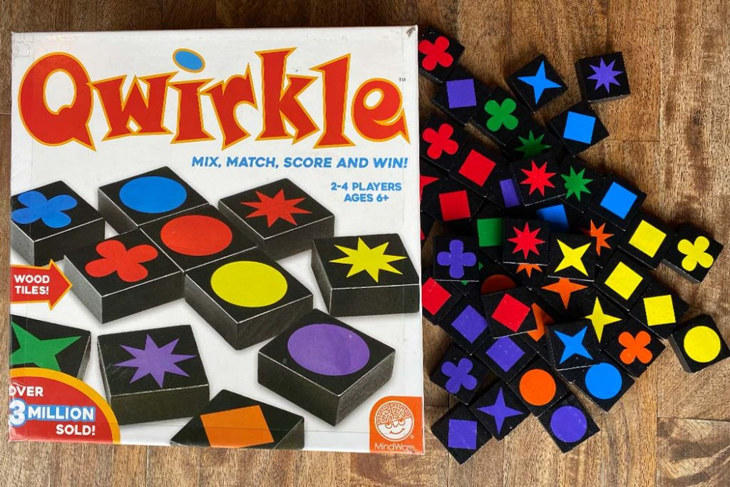 Qwirkle Board Game Box Art