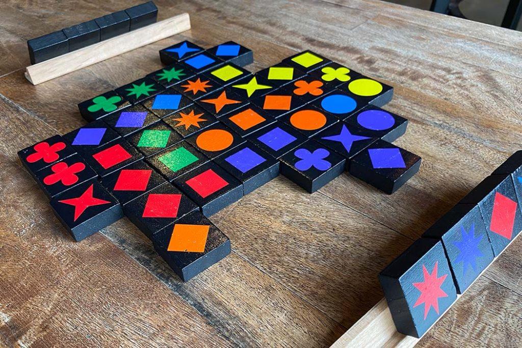 Qwirkle Board Game Gameplay