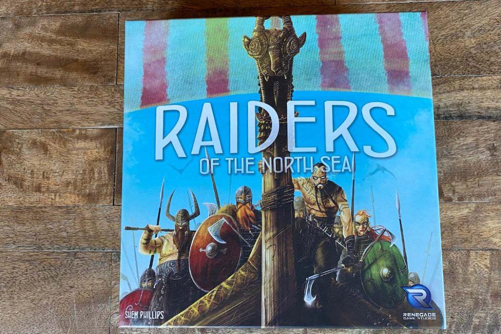 Raiders of the North Sea Board Game Box Art