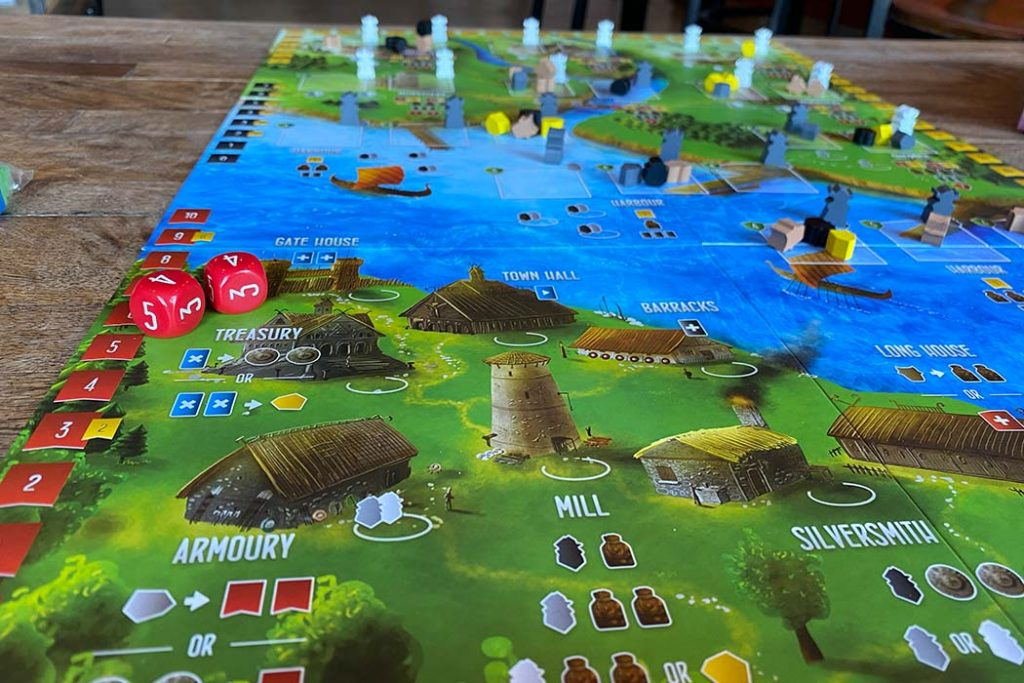 Raiders of the North Sea Board Game Overview
