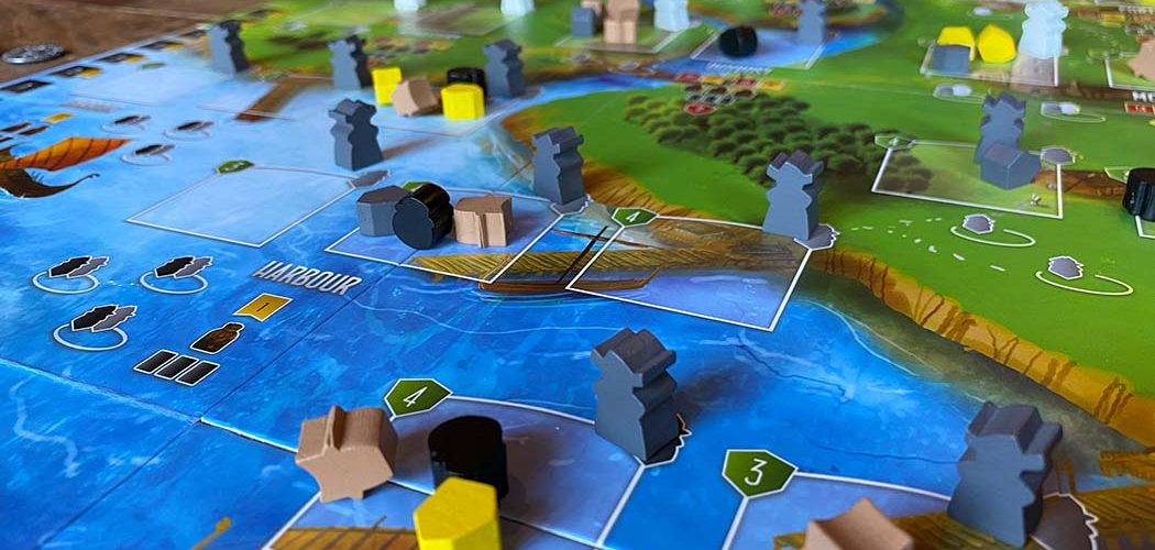 Raiders of the North Sea Board Game Spaces