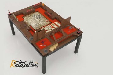 Rathskellers Launches Modular Gaming Table on Kickstarter