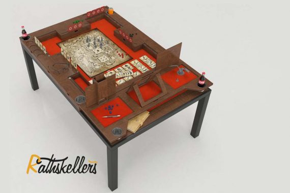 Rathskellers Launches Modular Gaming Table on Kickstarter