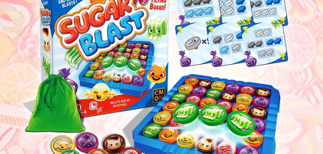 CMON Announces New Real Life Candy Crush Like Board Game Sugar Blast