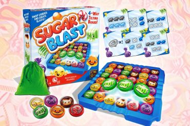 CMON Announces New Real Life Candy Crush Like Board Game Sugar Blast