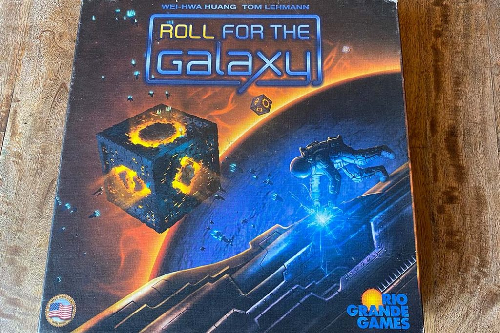 Roll For The Galaxy Board Game Box Art
