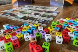Roll For The Galaxy Board Game Dice