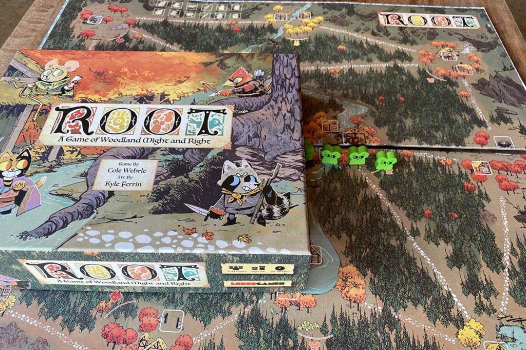 Root Board Game Box Art