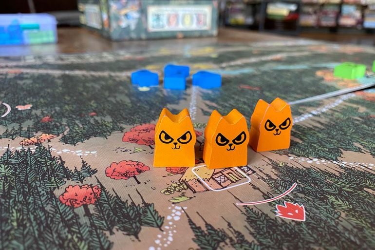 Root Board Game Forest Creatures