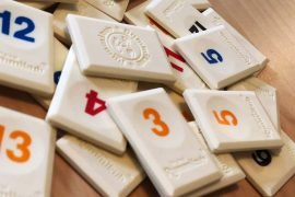 Rummikub Board Game Tile Pieces