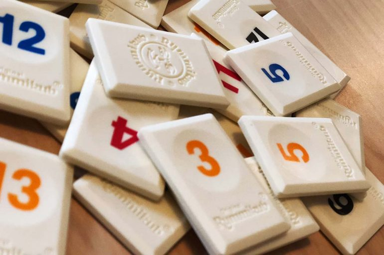 Rummikub Board Game Tile Pieces
