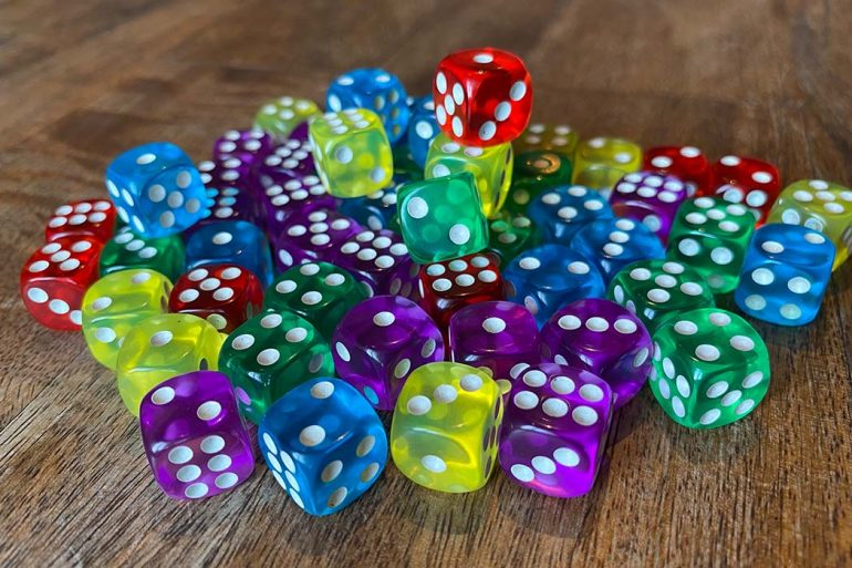 Sagrada Board Game Dice