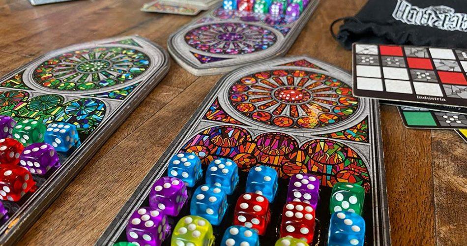 Sagrada Board Game Gameplay