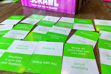 Scrawl Board Game Clues