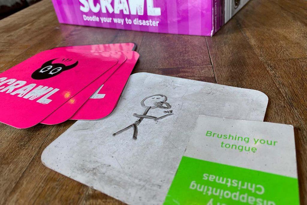 Scrawl Board Game Drawing