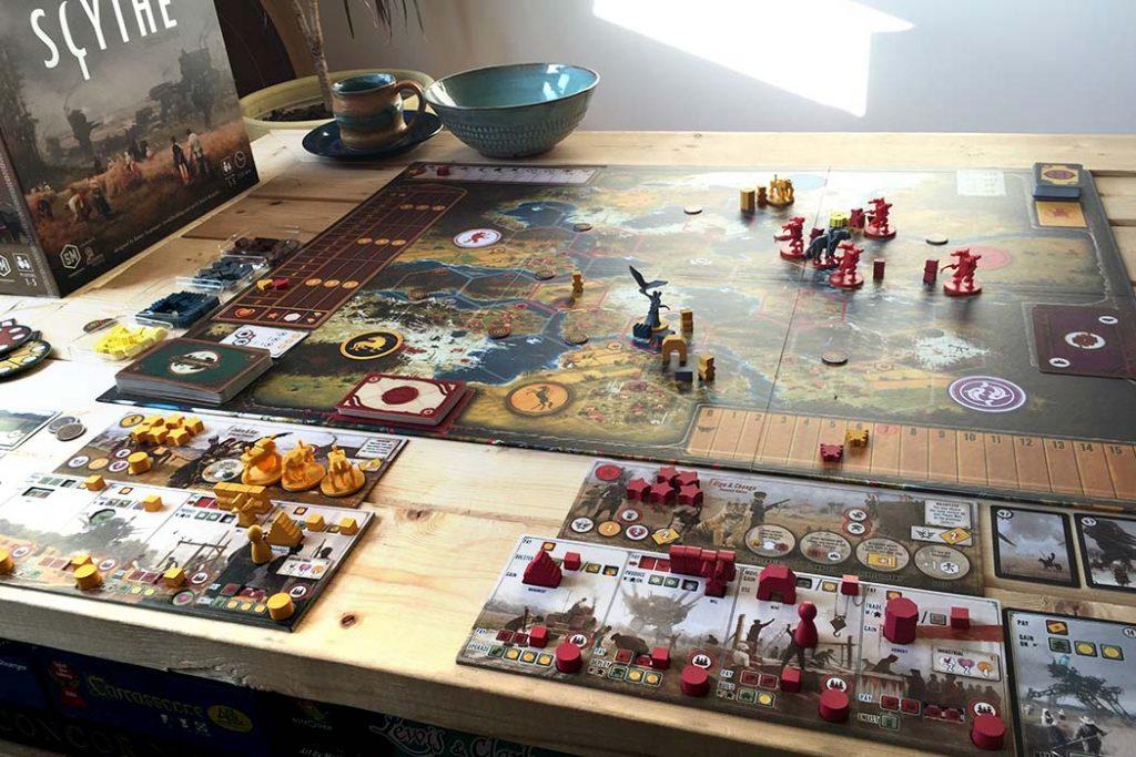 Scythe Board Game Player Setup