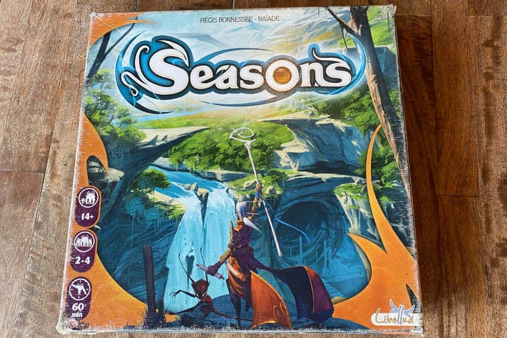 Seasons Board Game Box Art