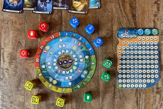 Seasons Board Game Overview