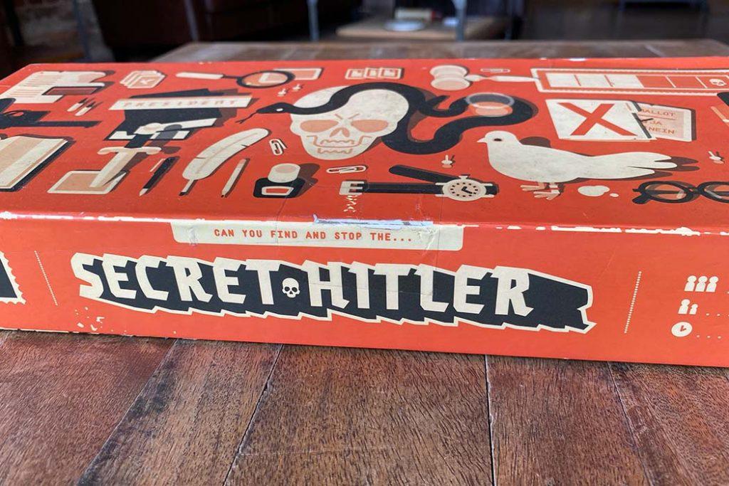 Secret Hitler Board Game Box Art