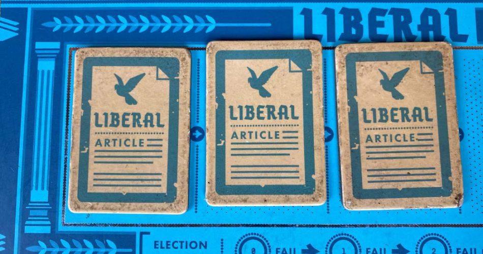 Secret Hitler Board Game Liberal Laws