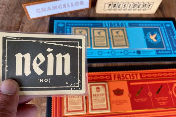 Secret Hitler Board Game Nein