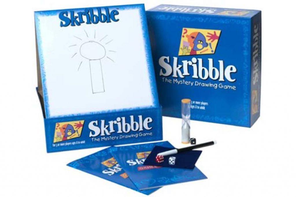 Skribble Board Game