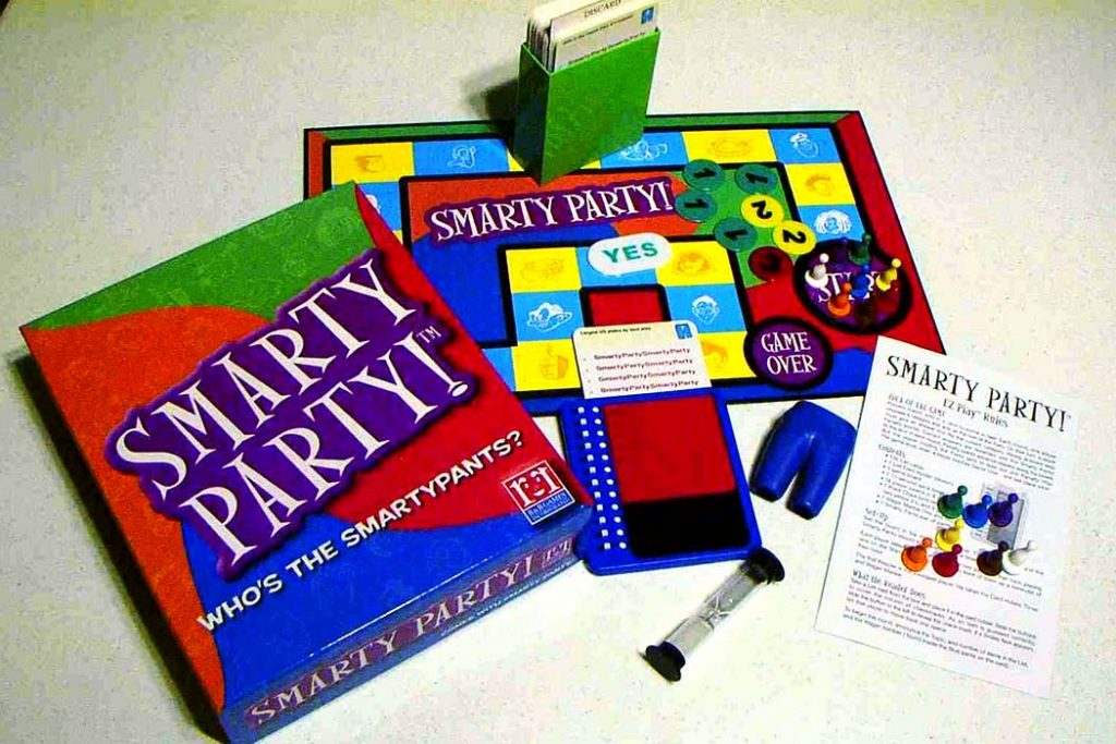 Smash Party Board Game