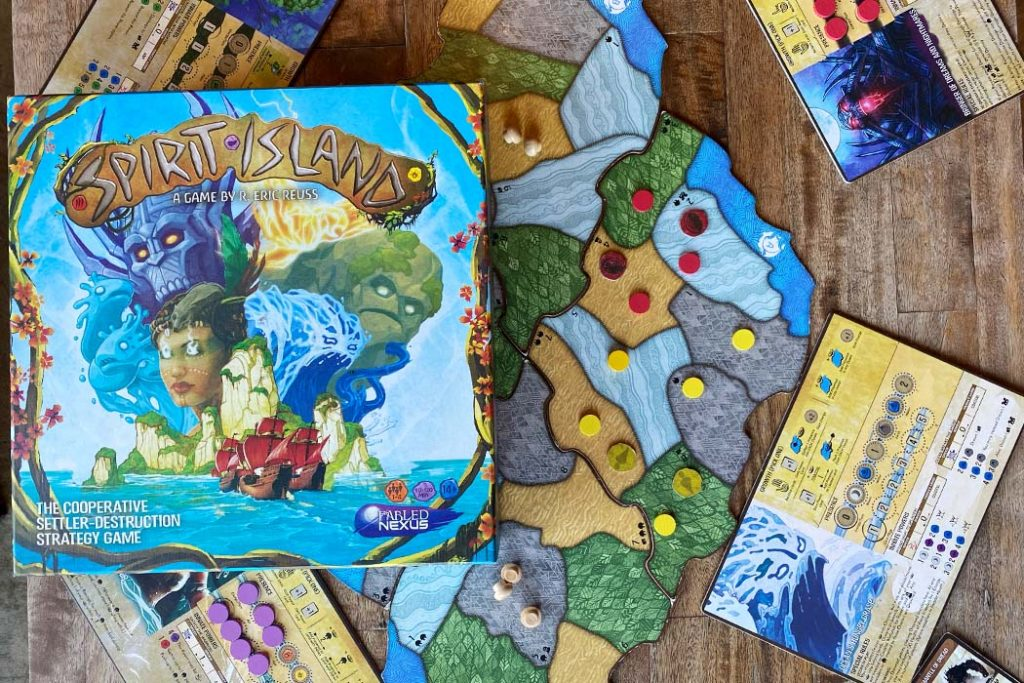 Spirit Island Board Game Box Art