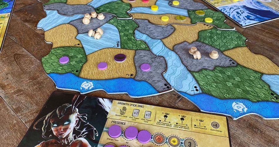 Spirit Island Board Game Player Card