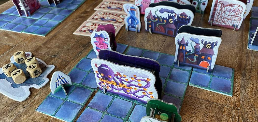 Steam Park Board Game Gameplay