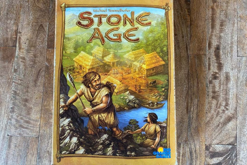 Stone Age Board Game Box Art
