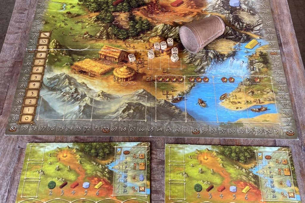 Stone Age Board Game Player Overview