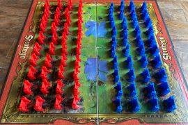 Stratego Board Game Battlefield Layout