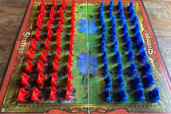 Stratego Board Game Battlefield Layout