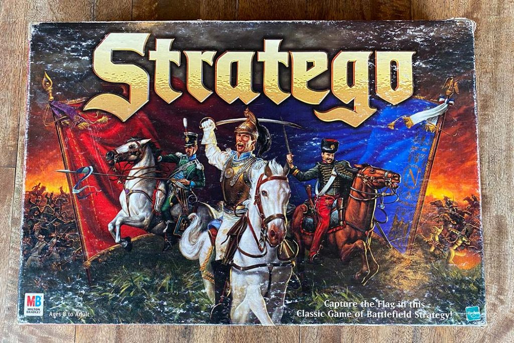 Stratego Board Game Box Art