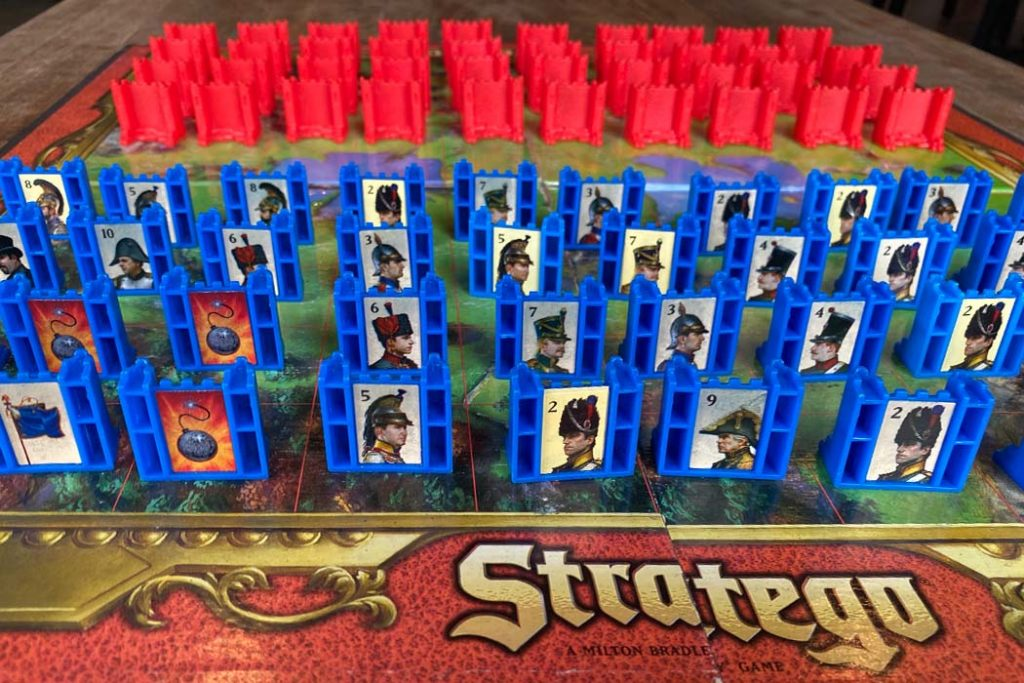Stratego Board Game Characters