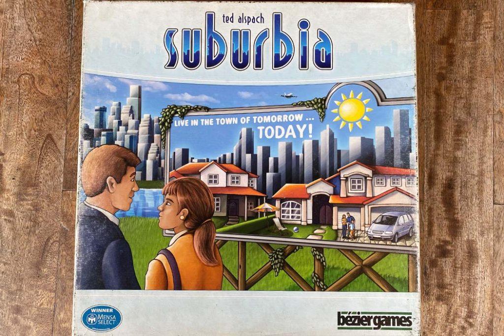 Suburbia Board Game Box Art