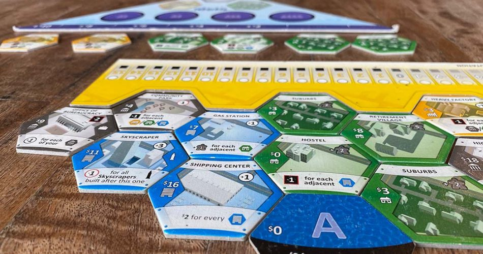 Suburbia Board Game Overview