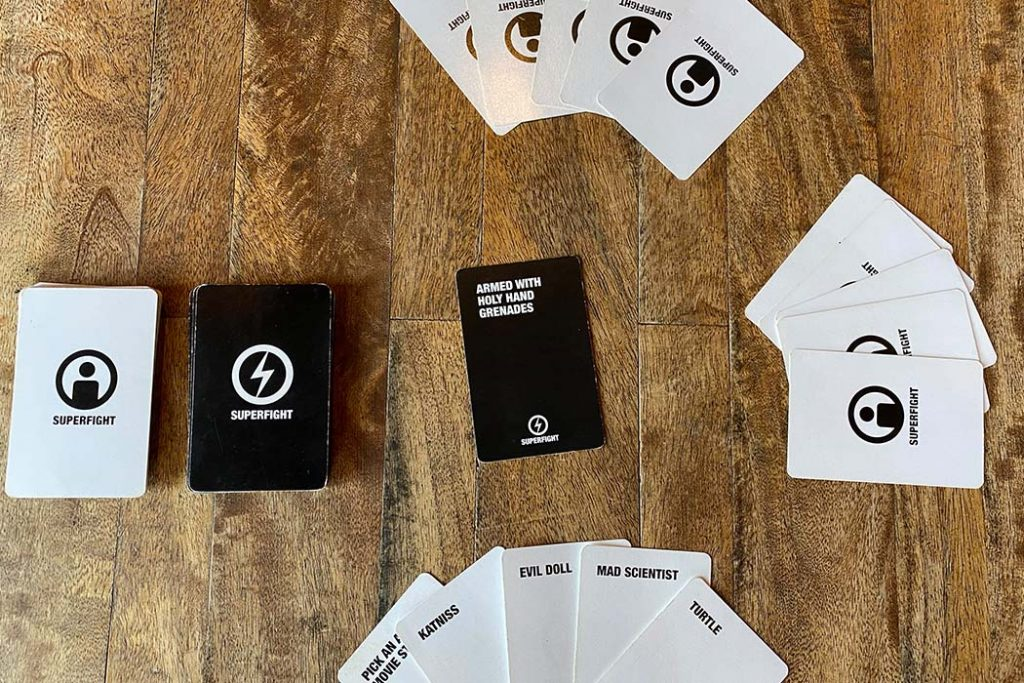 Superfight Board Game Overview