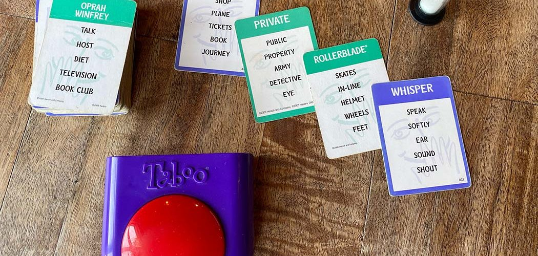 Taboo Board Game Overview