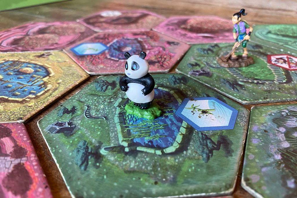 Takenoko Board Game Panda