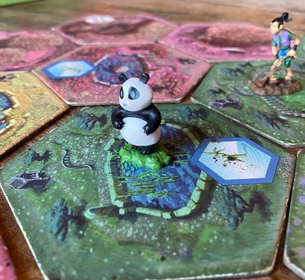 Takenoko Board Game Panda