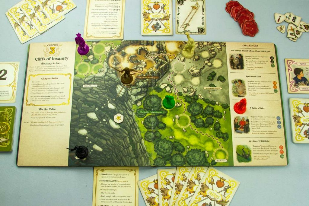 The Princess Bride Adventure Book Game Chapter 2 Overview