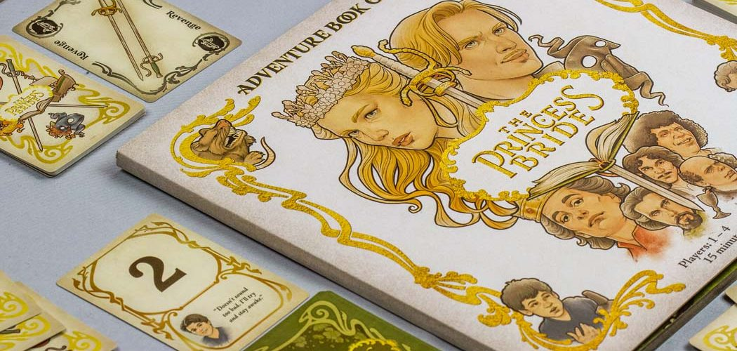 The Princess Bride Adventure Book Game Story Components