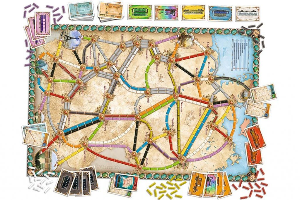 Ticket To Ride Germany Map