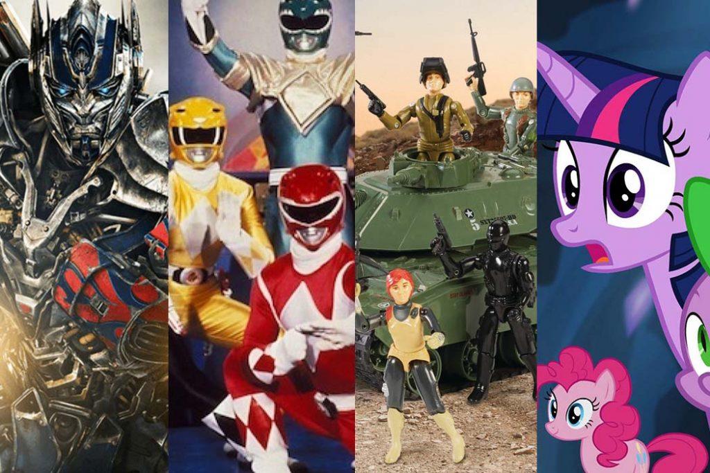 Transformers Power Rangers G I Joe My Little Pony Hasbro
