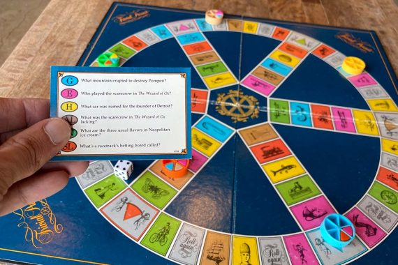 Trivial Pursuit Board Game Overview